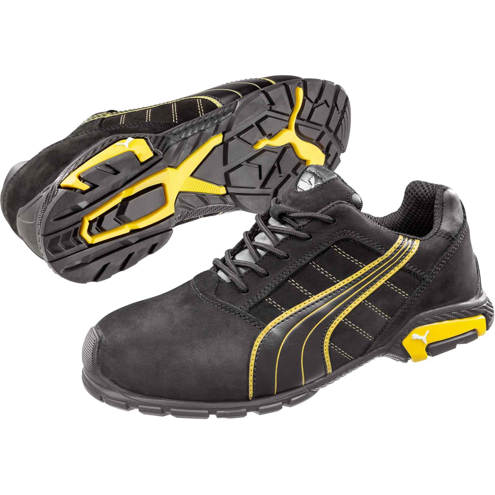 Détails sur Puma Safety Amsterdam Low S3 Src Chaussures de Sécurité Gr. 39 47 64.271.0